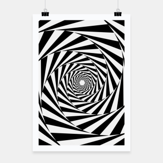 Miniaturka Spiral illusion Poster, Live Heroes