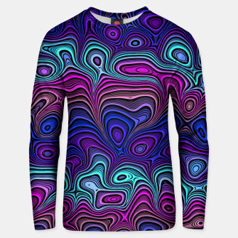 Thumbnail image of Abstract Color Wave Blue Unisex sweater, Live Heroes
