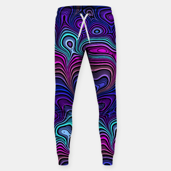 Thumbnail image of Abstract Color Wave Blue Sweatpants, Live Heroes