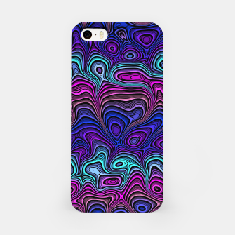 Thumbnail image of Abstract Color Wave Blue iPhone Case, Live Heroes