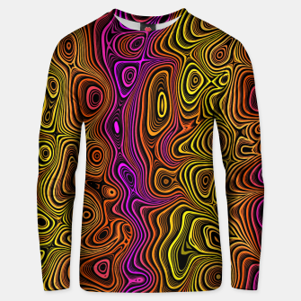 Thumbnail image of Abstract Color Wave Reds Unisex sweater, Live Heroes