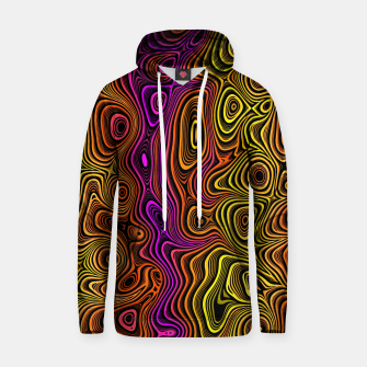 Thumbnail image of Abstract Color Wave Reds Hoodie, Live Heroes
