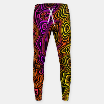 Thumbnail image of Abstract Color Wave Reds Sweatpants, Live Heroes
