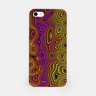 Thumbnail image of Abstract Color Wave Reds iPhone Case, Live Heroes