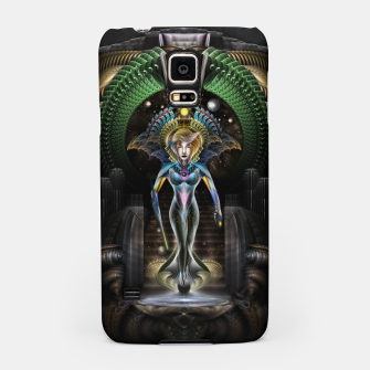 Thumbnail image of The Majesty Of Trilia Fractal Fantasy Portrait Samsung Case, Live Heroes