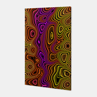 Thumbnail image of Abstract Color Wave Reds Canvas, Live Heroes