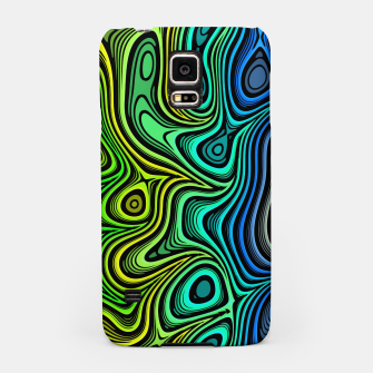 Thumbnail image of Abstract Color Wave Greens Samsung Case, Live Heroes