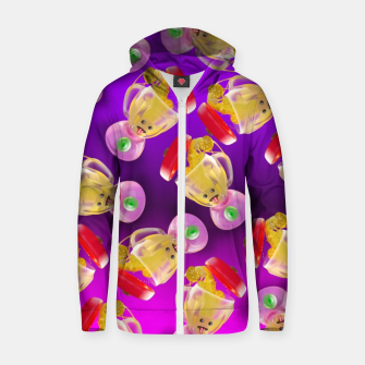 Thumbnail image of Lemmon juice Blender Zip up hoodie, Live Heroes