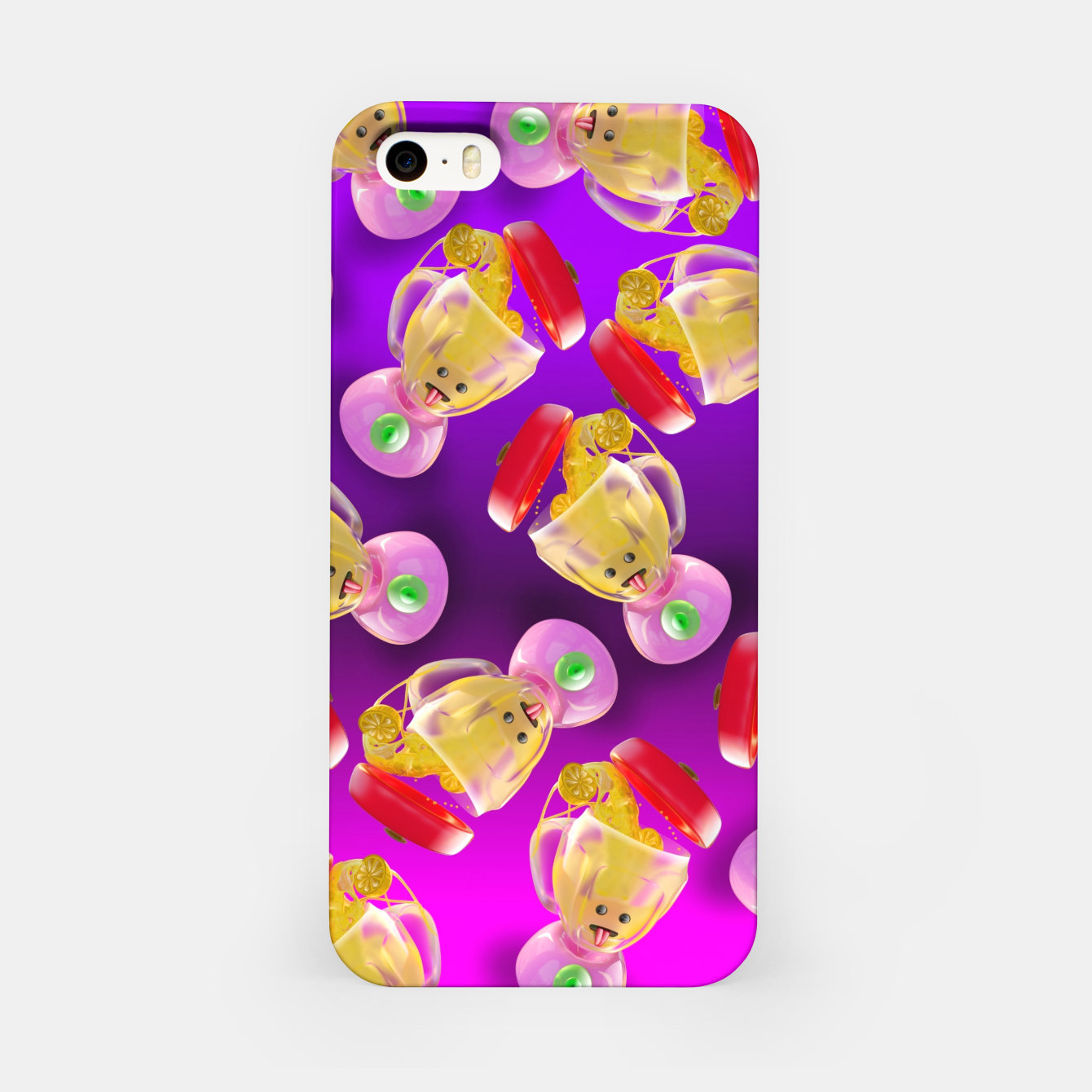 Image of Lemmon juice Blender iPhone Case - Live Heroes