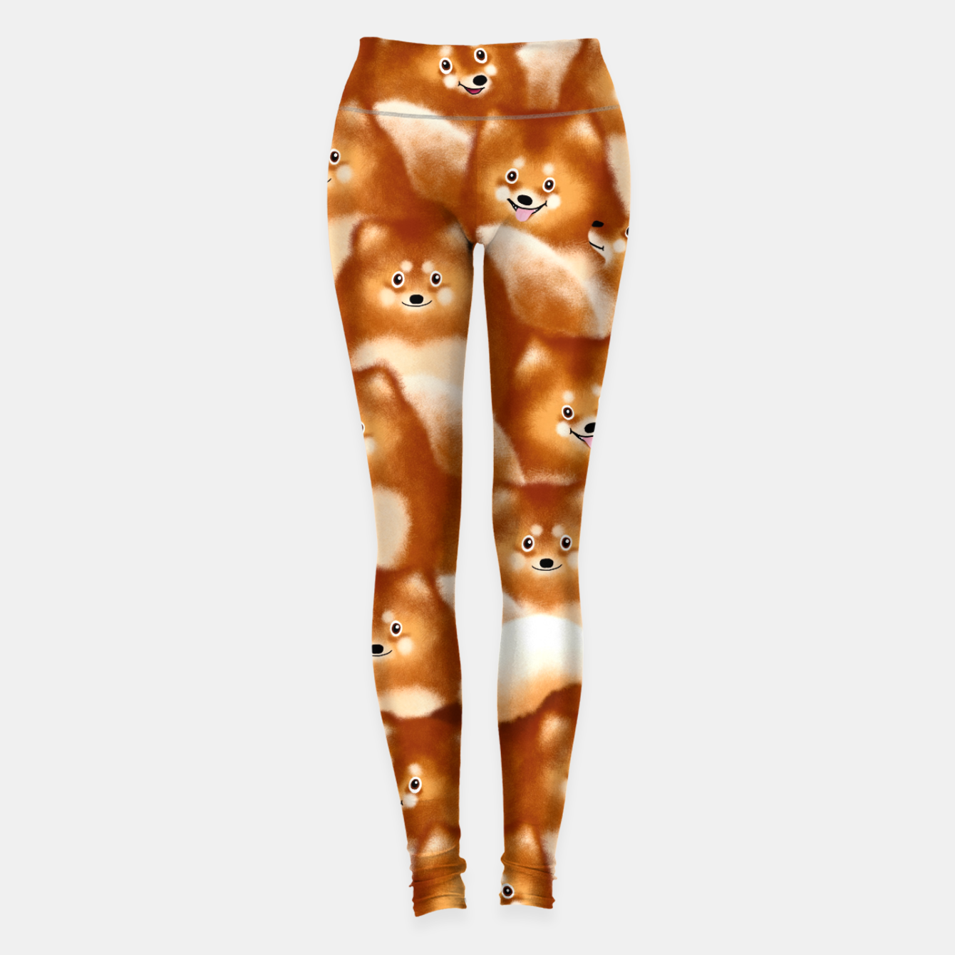 Image of Pomeranians Leggings - Live Heroes