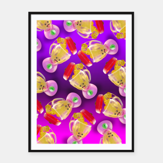 Thumbnail image of Lemmon juice Blender Framed poster, Live Heroes