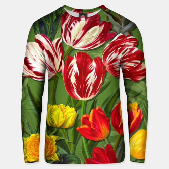 Thumbnail image of Tulip Flower Fresh Garden Joy Unisex sweater, Live Heroes