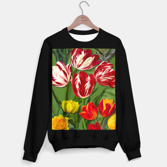 Thumbnail image of Tulip Flower Fresh Garden Joy Sweater regular, Live Heroes