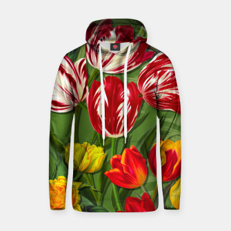 Thumbnail image of Tulip Flower Fresh Garden Joy Hoodie, Live Heroes