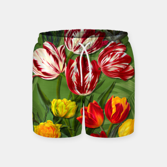 Thumbnail image of Tulip Flower Fresh Garden Joy Swim Shorts, Live Heroes