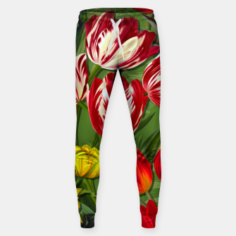 Thumbnail image of Tulip Flower Fresh Garden Joy Sweatpants, Live Heroes