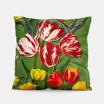 Thumbnail image of Tulip Flower Fresh Garden Joy Pillow, Live Heroes