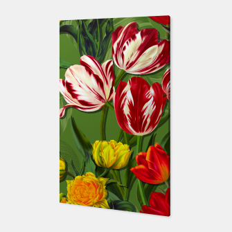 Thumbnail image of Tulip Flower Fresh Garden Joy Canvas, Live Heroes