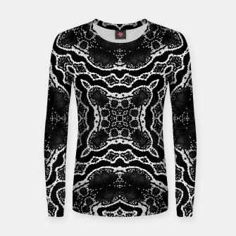 abstract jewel print Women sweater thumbnail image