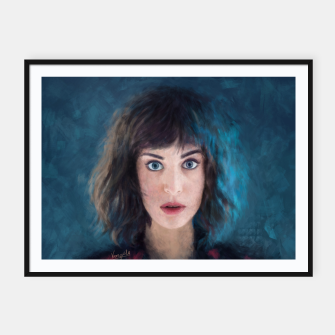 Thumbnail image of Lizzy  Framed poster, Live Heroes