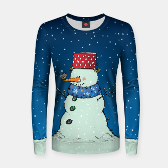 Imagen en miniatura de Song for Mr.Snowman Women sweater, Live Heroes
