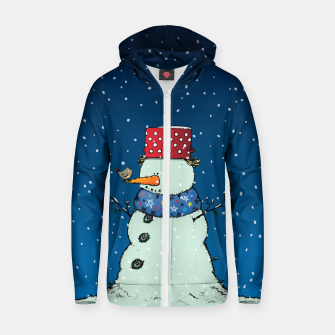 Imagen en miniatura de Song for Mr.Snowman Zip up hoodie, Live Heroes