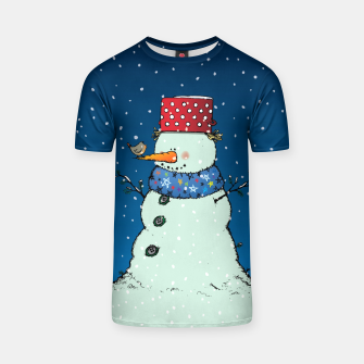 Imagen en miniatura de Song for Mr.Snowman T-shirt, Live Heroes