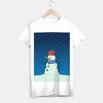 Imagen en miniatura de Song for Mr.Snowman T-shirt regular, Live Heroes