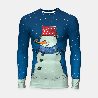 Thumbnail image of Song for Mr.Snowman Longsleeve rashguard , Live Heroes