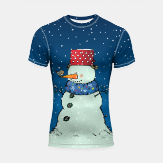 Thumbnail image of Song for Mr.Snowman Shortsleeve rashguard, Live Heroes