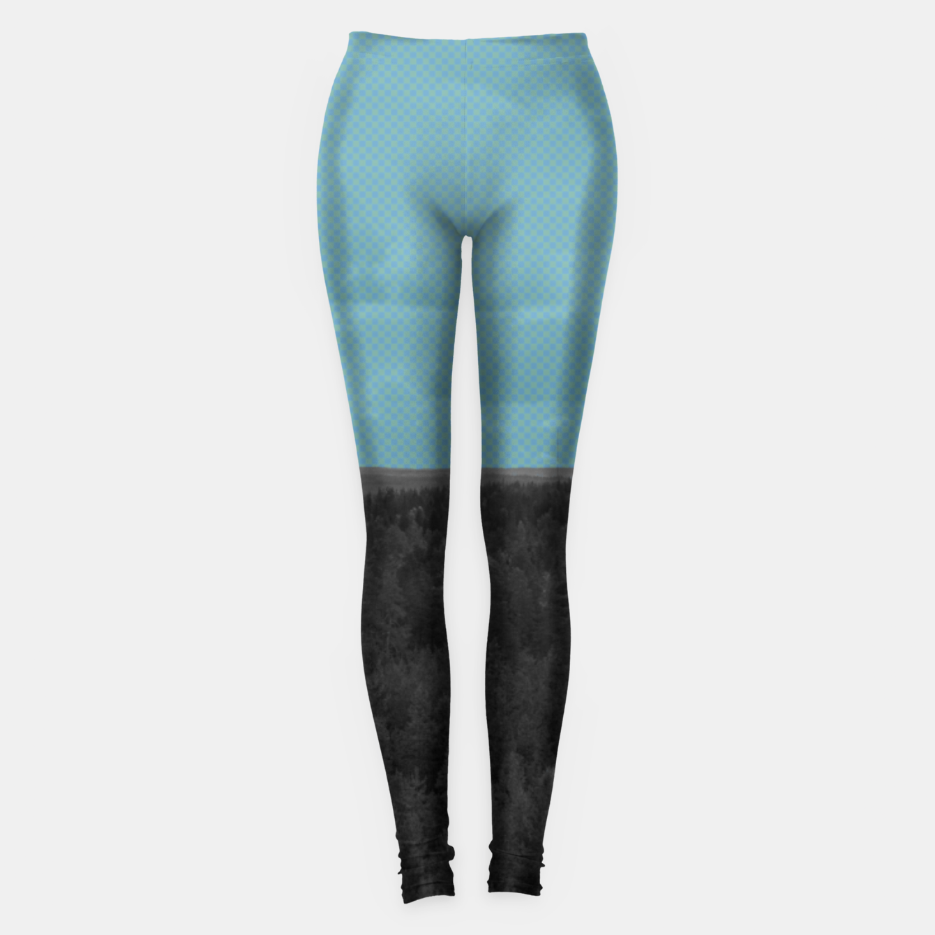 Image of Forest and blue sky Leggings - Live Heroes