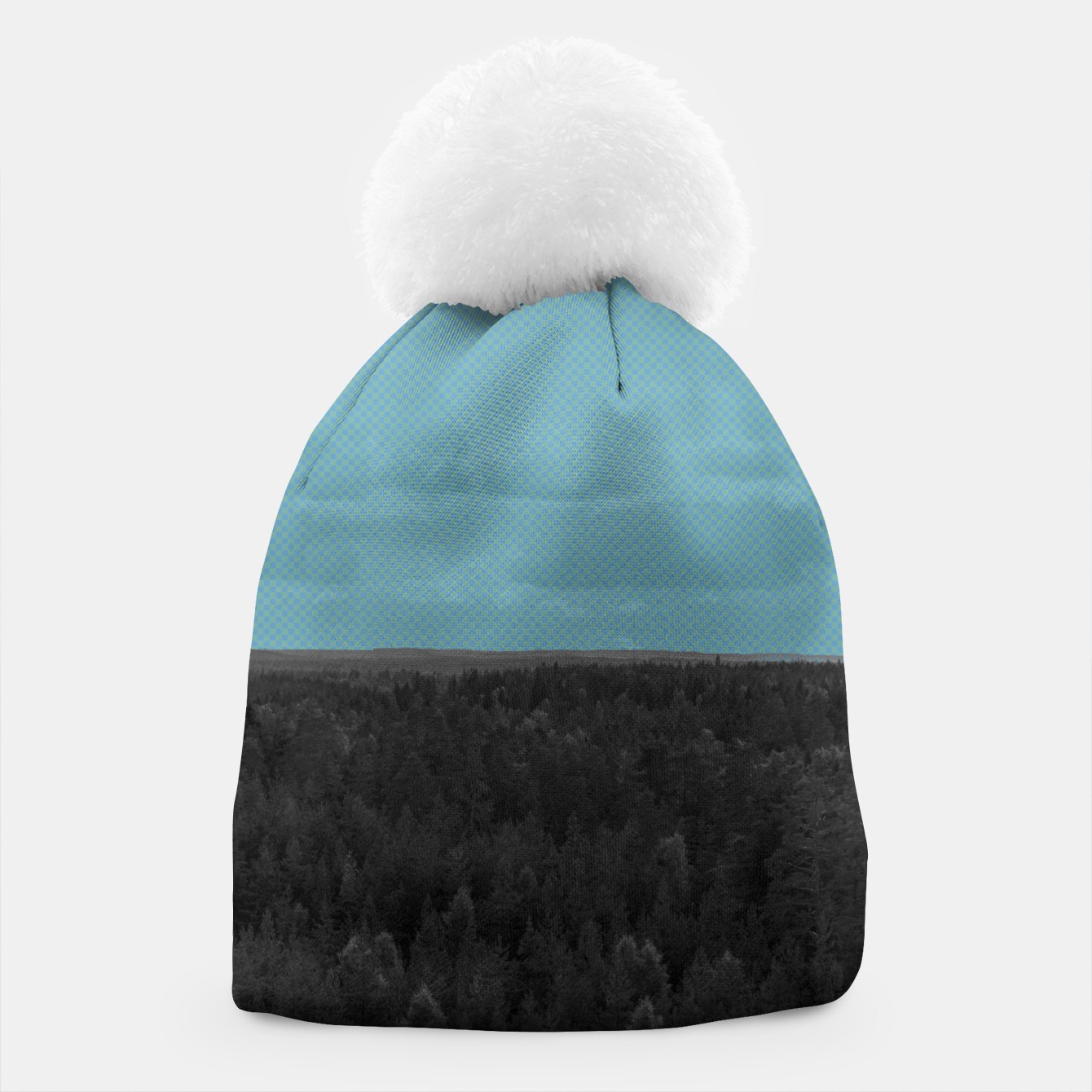 Image of Forest and blue sky Beanie - Live Heroes