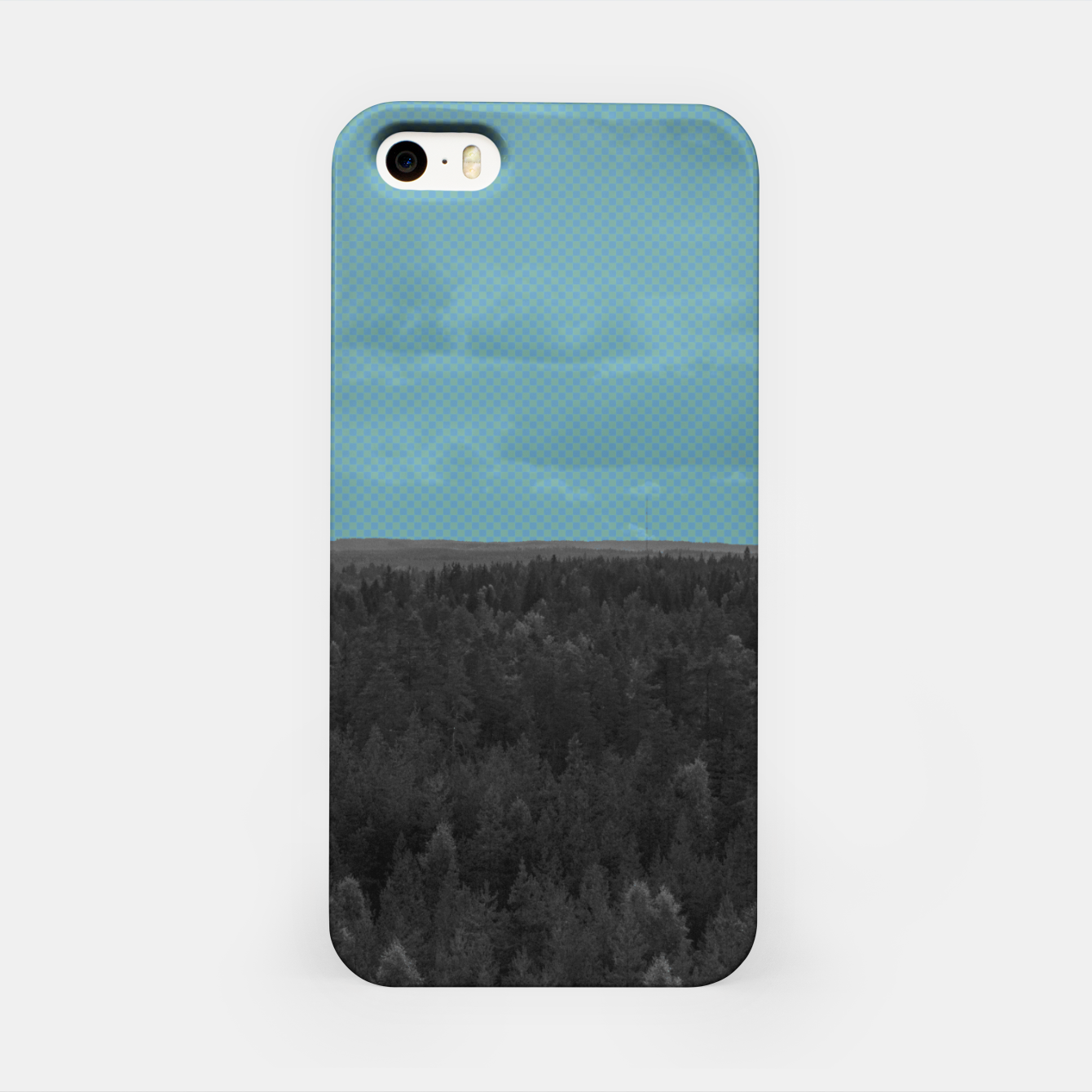 Image of Forest and blue sky iPhone Case - Live Heroes