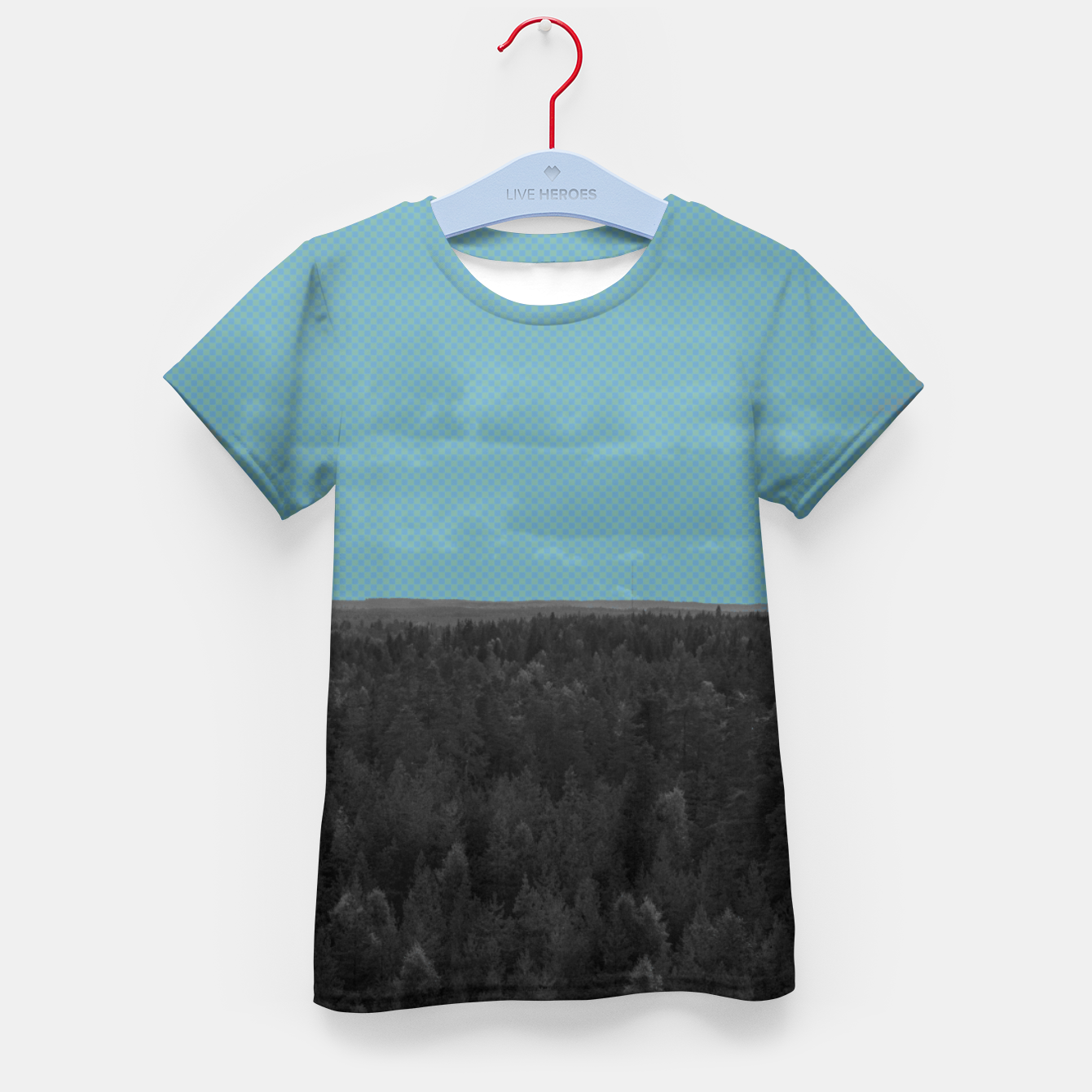 Image of Forest and blue sky Kid's t-shirt - Live Heroes