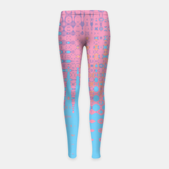 Pastel love Girl's leggings thumbnail image