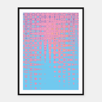 Thumbnail image of Pastel love Framed poster, Live Heroes