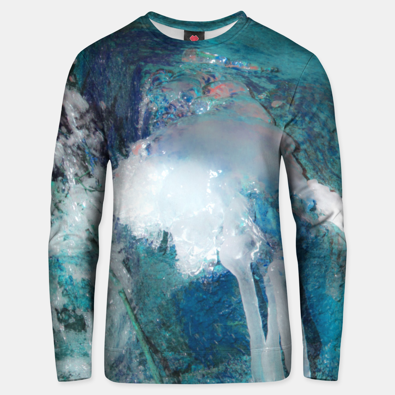 Image of Ice water Unisex sweater - Live Heroes