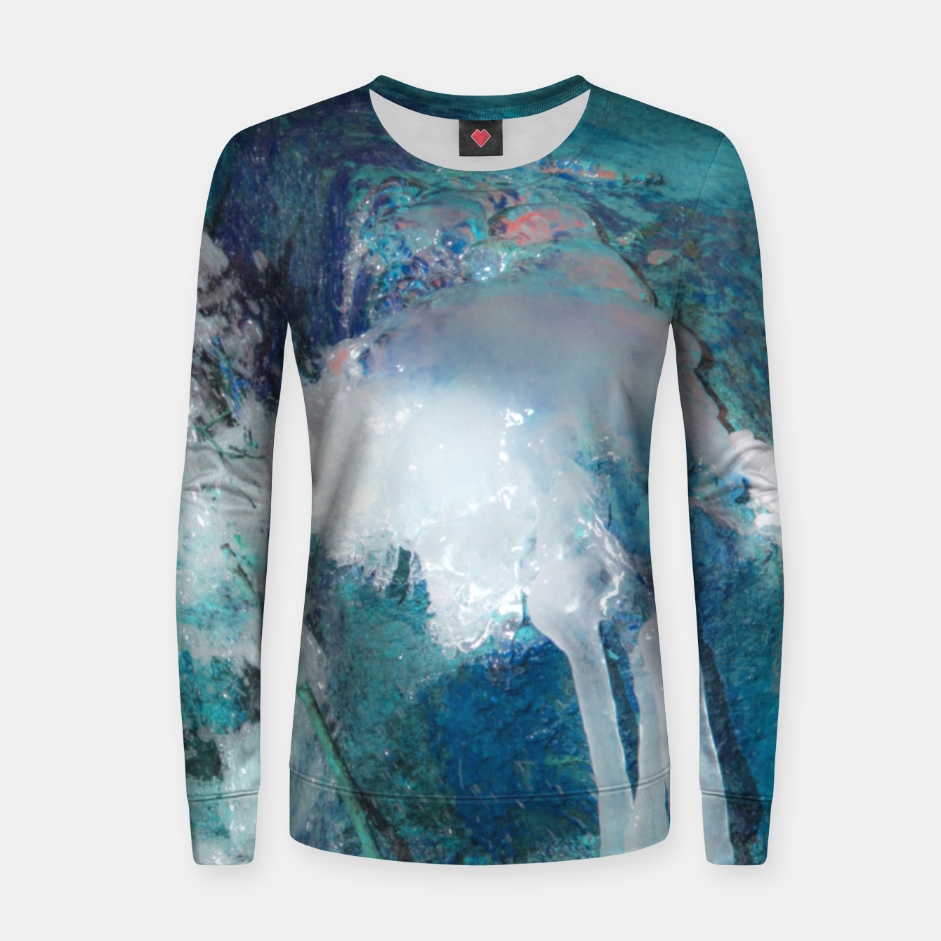 Image of Ice water Women sweater - Live Heroes