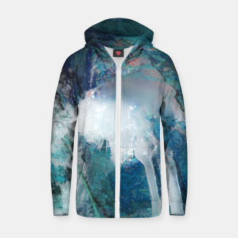 Ice water Zip up hoodie thumbnail image