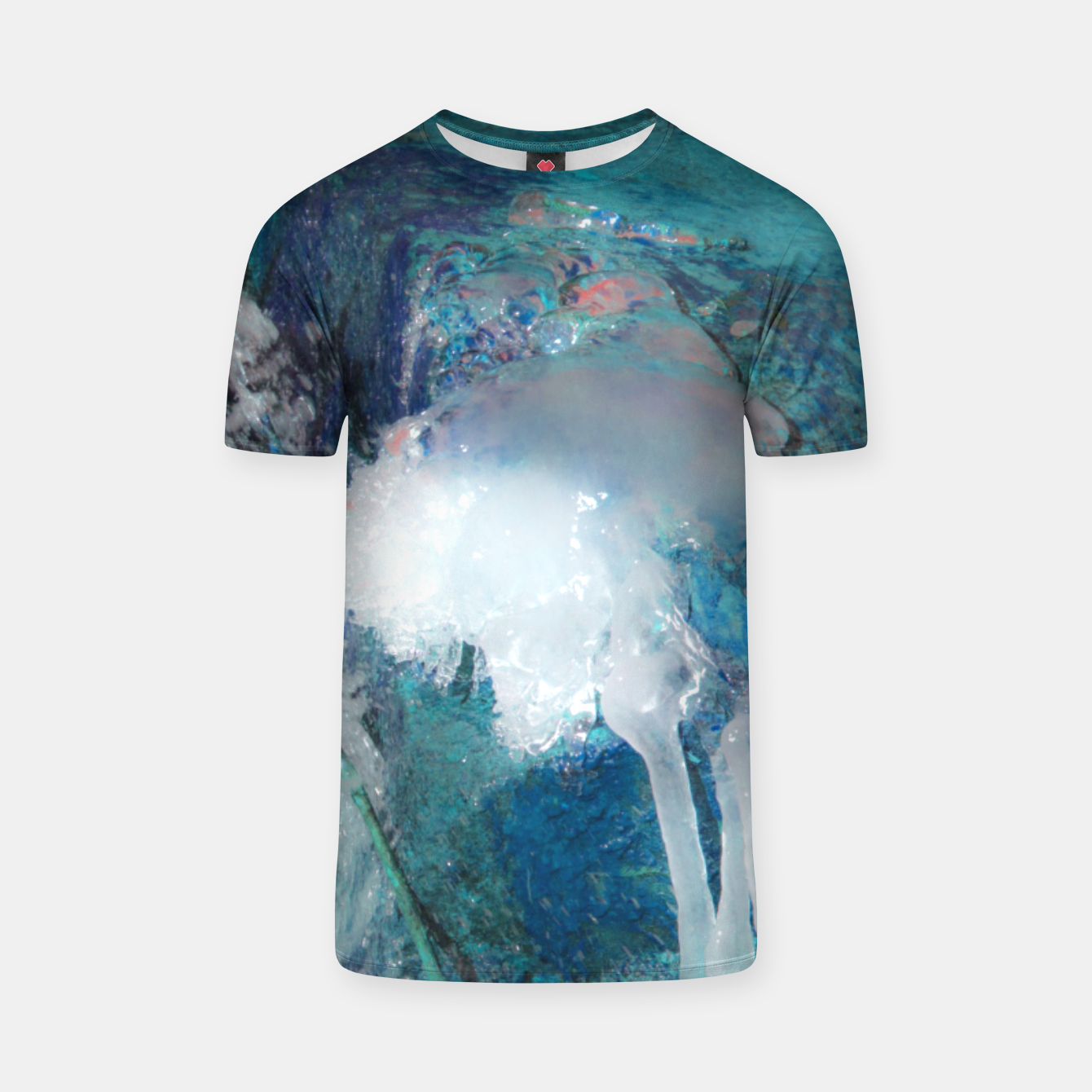 Image of Ice water T-shirt - Live Heroes