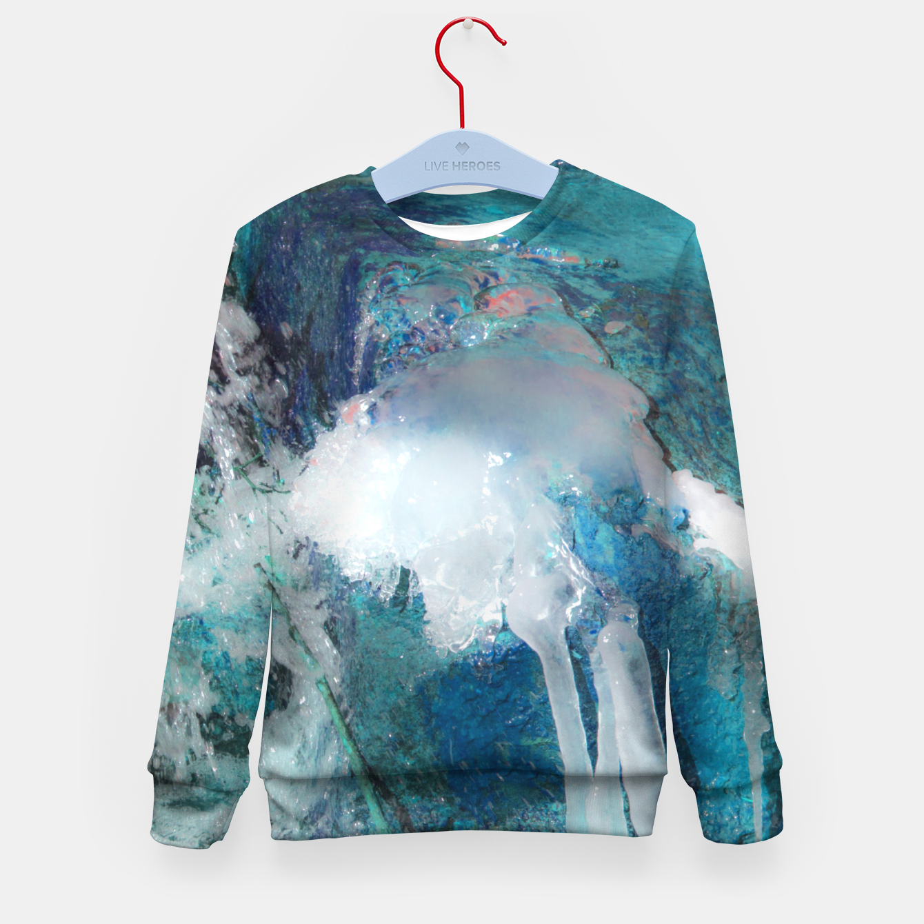 Image of Ice water Kid's sweater - Live Heroes