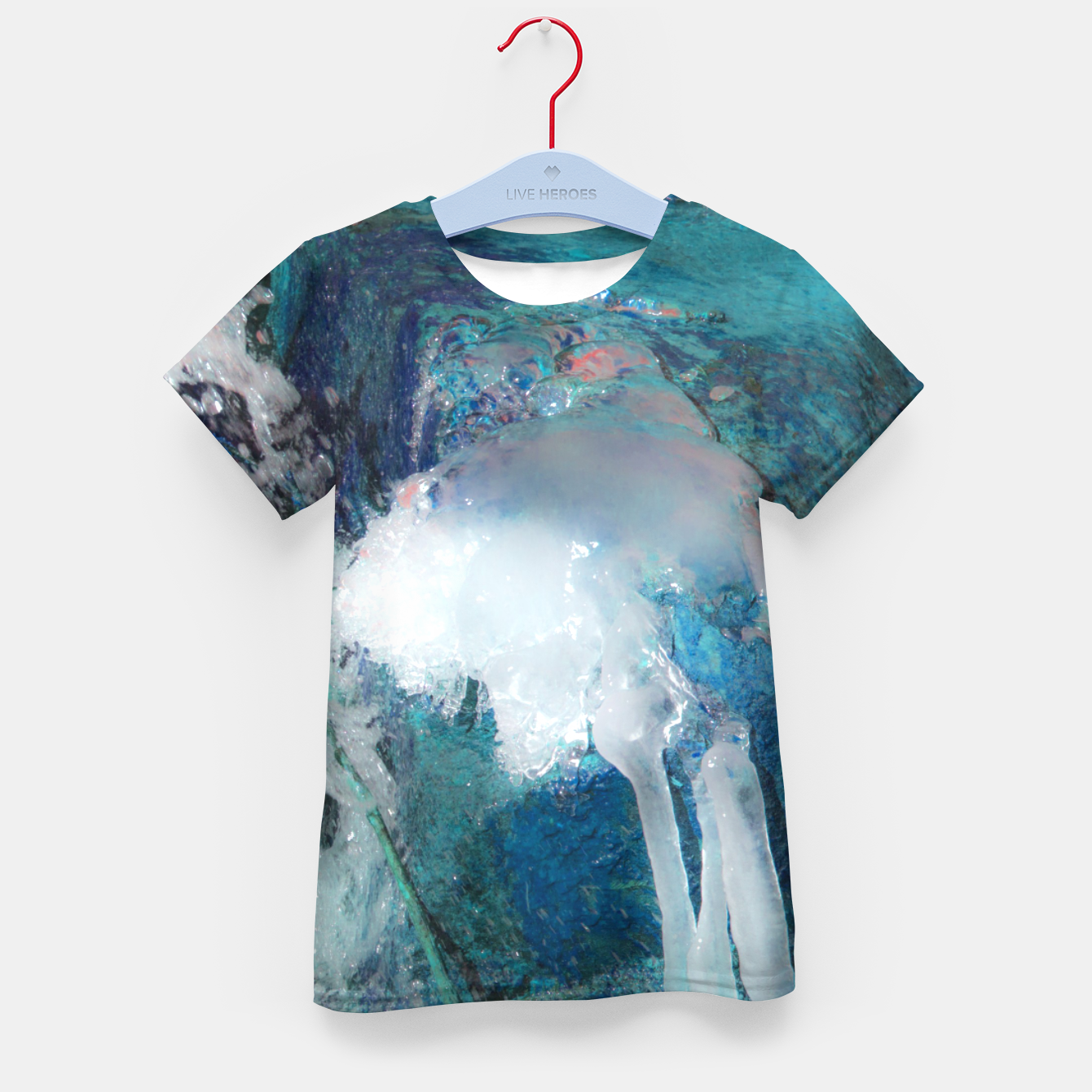 Image of Ice water Kid's t-shirt - Live Heroes
