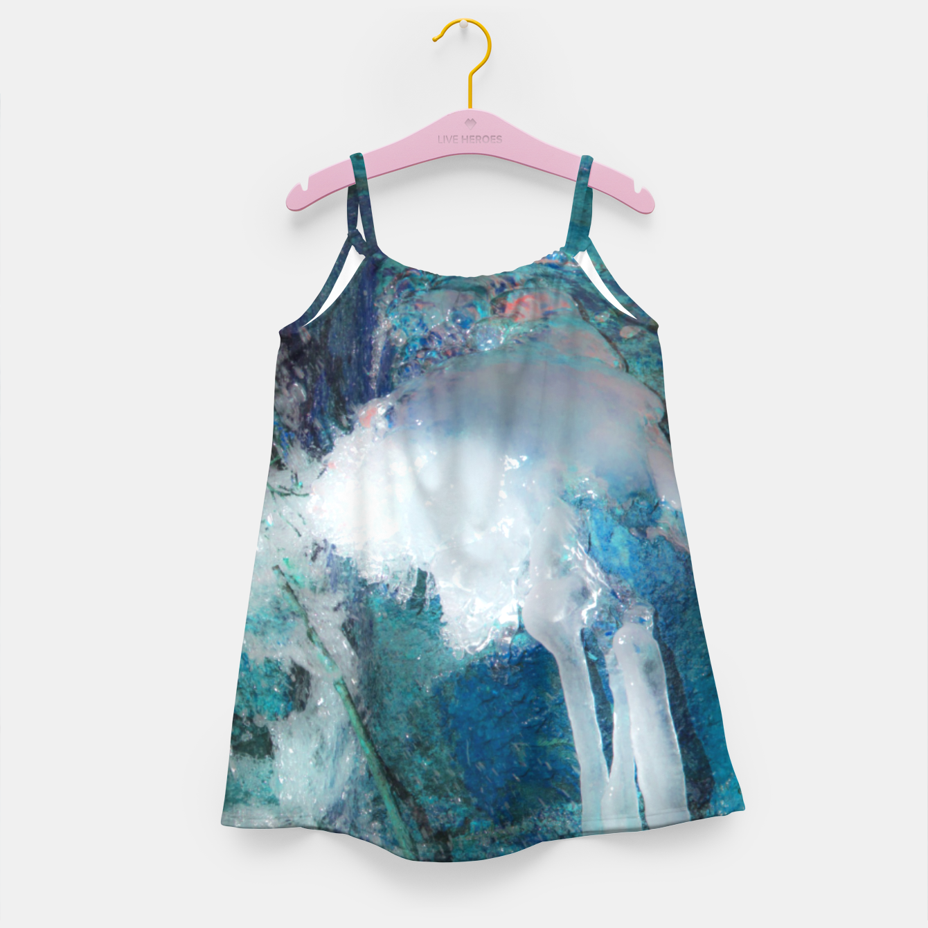 Image of Ice water Girl's dress - Live Heroes