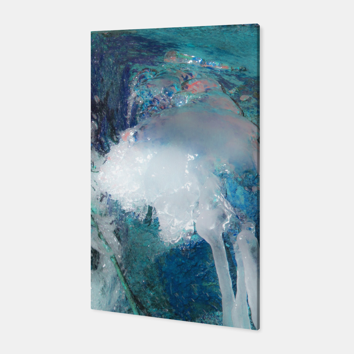 Image of Ice water Canvas - Live Heroes