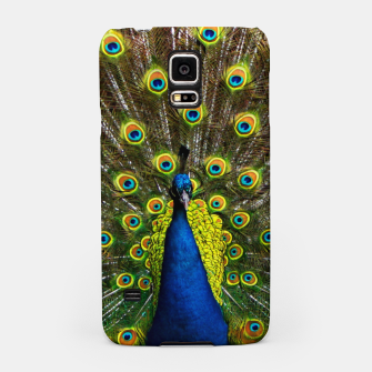 Colorful peacock Samsung Case thumbnail image