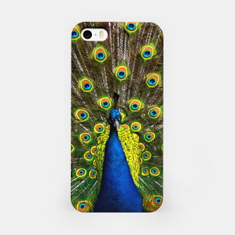 Colorful peacock iPhone Case thumbnail image