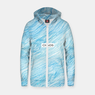 Thumbnail image of CHAOS Zip up hoodie, Live Heroes