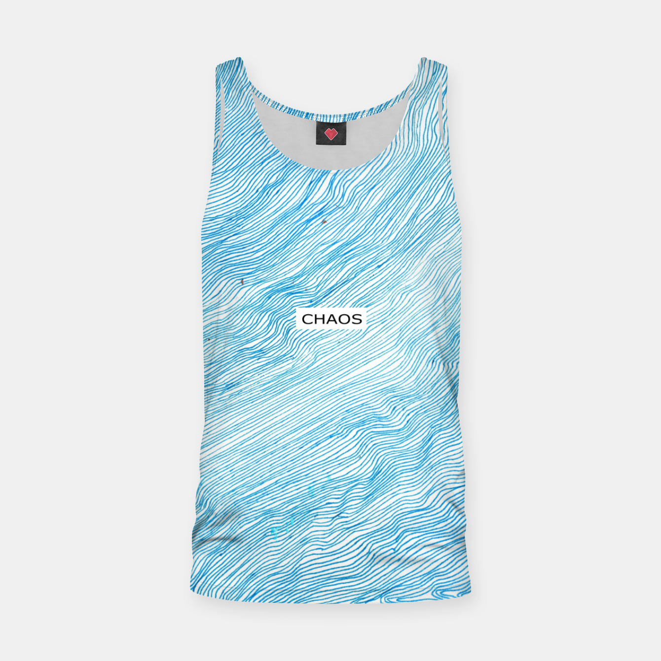Image of CHAOS Tank Top - Live Heroes