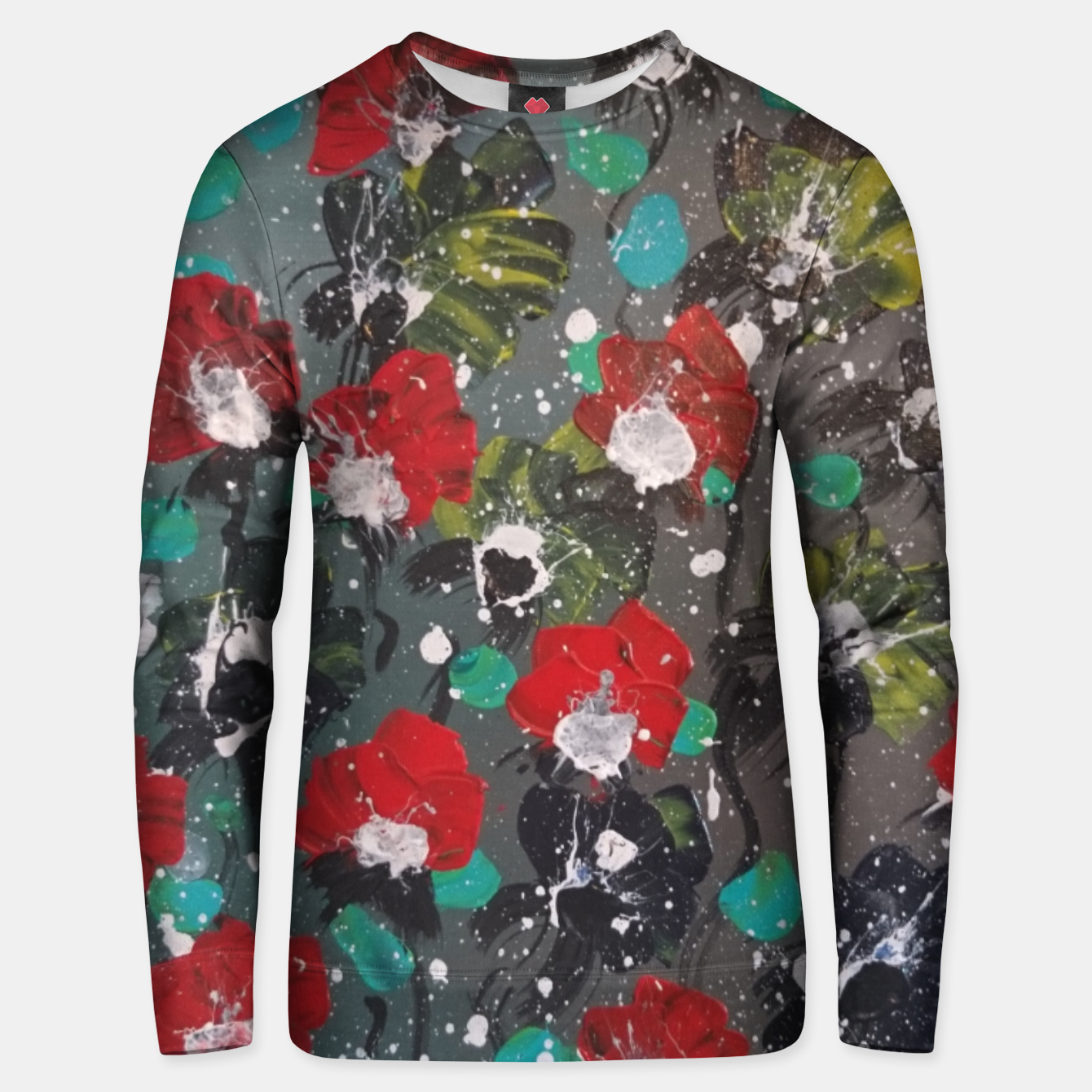 Image of flori Unisex sweater - Live Heroes