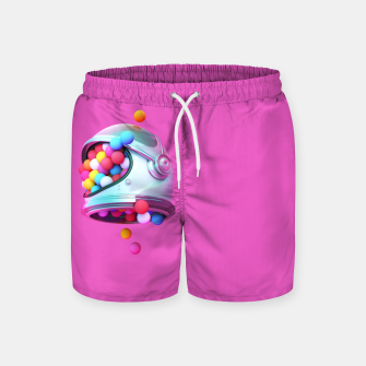 Colorful Balls Swim Shorts thumbnail image